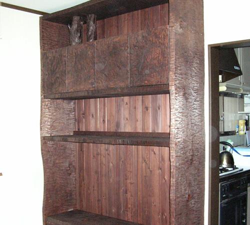 手造り家具・タンス写真